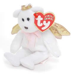 Image Unavailable. Image not available for. Color  Ty Jingle Beanies Halo  II - Angel Bear a0e39a0e8b2b