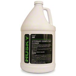 Canberra Husky 890 Veterinary Disinfectant Cleaner 1 case/4 gallons - Husky Disinfectant