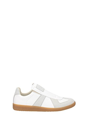 Sneakers Martin Margiela Uomo - Pelle (s37ws0282sy0102) Eu Bianco
