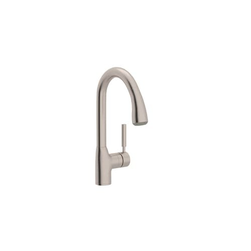 Rohl R7505SSTN-2 Ba351X-Apc-2 Faucet with Pull Out Spray and Metal Lever Handle, Satin Nickel by Rohl
