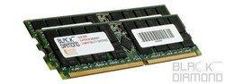 4GB 2X2GB Memory RAM for Dell PowerEdge 6600 DDR RDIMM 184pin PC2100 266MHz Black Diamond Memory Module ()