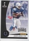 Joseph Addai #3/5 (Football Card) 2012 Panini Super Bowl XLVI - Indianapolis Colts - Father's Day - Indianapolis Super 2012 Bowl