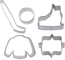 5 Piece Ice Hockey Cookie Cutter Set