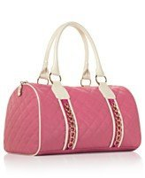 Nicky Minaj ''Pink Friday'' Pink and White Satchel