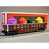 LIONEL GINGERBREAD JUNCTION GONDOLA W CANISTER LOAD