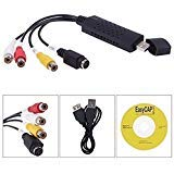 Generic USB 2.0 Easycap Dc60 Tv Dvd Vhs Video Adapter Capture Card Audio Av Capture Support Win Xp/ 7 / 8