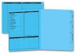 EGP Letter Size Real Estate Listing Folder Left Panel
