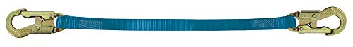 """Tractel C606Z High-Abrasion Web Lanyard with 3/4"""" Self-Lo..."""