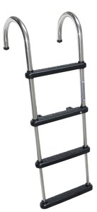 Windline TDL-4E Telescoping Removable Stainless Steel Pontoon Ladder (Windline 4 Step)