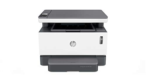 HP Neverstop Laser 1201n 5HG89A, Impresora A4 Multifunción Monocromo Con Depósito de Tóner, Imprime, Escanea y Copia…