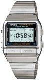 Original Silver Dial - Casio Men's DB380-1 Silver Stainless-Steel Quartz Watch with Digital Dial