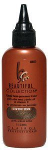 CLAIROL Professional Beautiful Collection Gentle Semi- Permanent Color B11W Honey Brown Level 4-Base Gold 3oz/88 ml