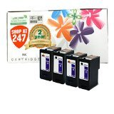 (4-Pack (2BK+2C) Series 11 Remanufactured Hi-Yield Ink for Dell JP451 JP453 All-in-One 948 v505w v505 Printer)