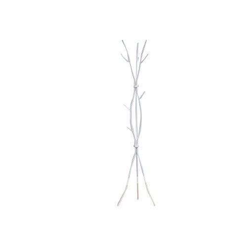 Monarch I 2063 Metal Coat Rack, 74-Inch, White (White Coat Rack)