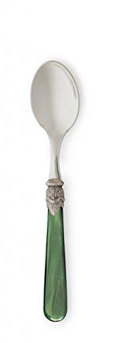 Napoleon Flatware Espresso Spoons - Napoleon Pearlized Green S 4 Espresso Spoons