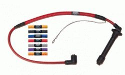 Nology 011 414 021 Red Hotwires Spark Plug Wires