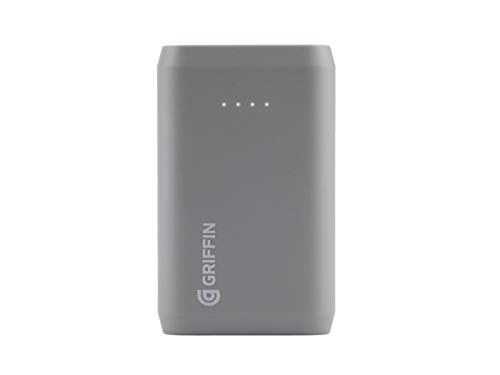 Reserve Power Bank, 9,000 mAh [Compact Portable Charger] [12 Watts of Charging Power] Gray