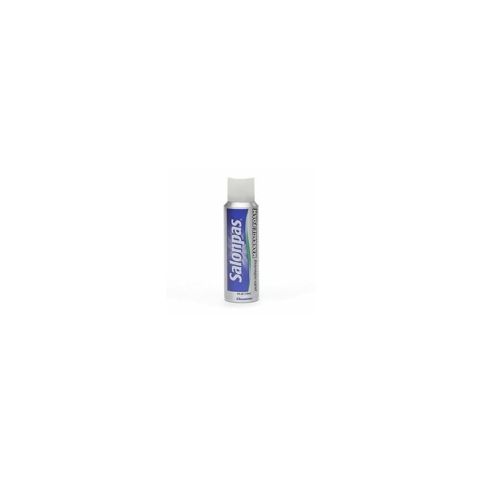 Salonpas Pain Relieving Massage Foam, 4 Ounce