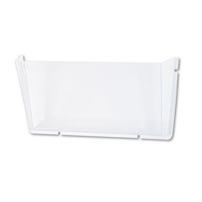 Unbreakable Docupocket Single Pocket Wall File, Letter, Clear, Total 12 EA, Sold as 1 Carton