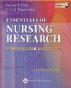 Essentials of Nursing Research: Methods, Appraisal, and Utilization -  Polit, Denise F.