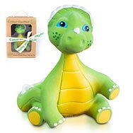 Insane 4 Day Sale! Expires 5/14 Cosmo the Dino Baby Natural Teether Toy by Pijio with Free Downloadable Coloring...