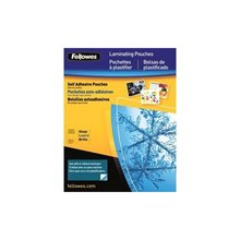 (Fellowes 42064 Self Adhesive Laminating Pouches - Business 5-Pack (2.35 x 3.86))