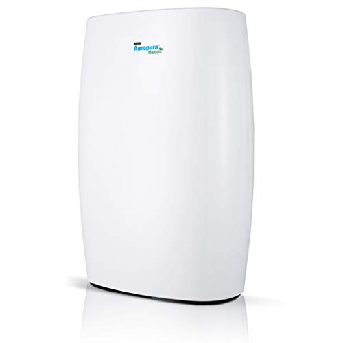 ANSIO Air Purifier with True HEPA Filter and Activated Carbon Filter...