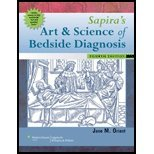 Sapira's Art and Science of Bedside Diagnosis by Orient MD, Jane M.. (Lippincott Williams & Wilkins,2009) [Hardcover] Fourth (4TH) Edition