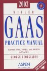 Miller GAAS Practice Manual 2003, Georgiades, 0735532621