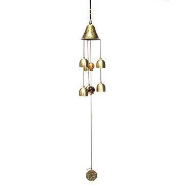 Chime Bell - Bell Copper Clock Yard Garden Amazing Wind Chime - Shape Alexander Buzzer Doorbell Gong Graham - 1PCs