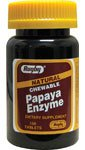 Papaya Enzyme Natural Chewable Tablets 100 Tabs (6 (Papaya Enzyme 100 Chew)