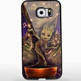 I Am Groot Guardian of Galaxy for Iphone and Samsung Galaxy Case (Samsung Galaxy S6 black) (Canada Customs Duties And Taxes On Imports)