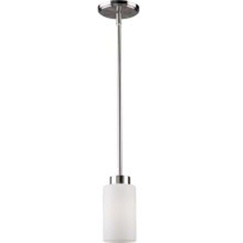 Artcraft Lighting Russell Hill 1-Light Pendant, Polished Nickel
