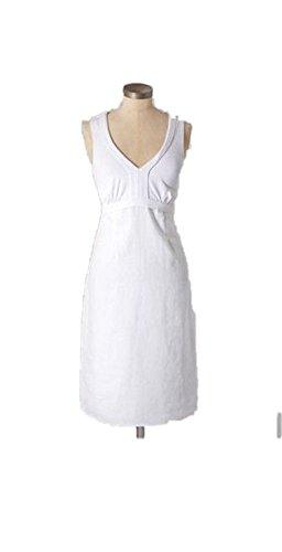 Taille De Robe En Jersey De Lin Blanc Boden Nous 8