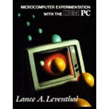 Microcomputer Experimentation with the IBM PC, Leventhal, Lance A., 0030095425
