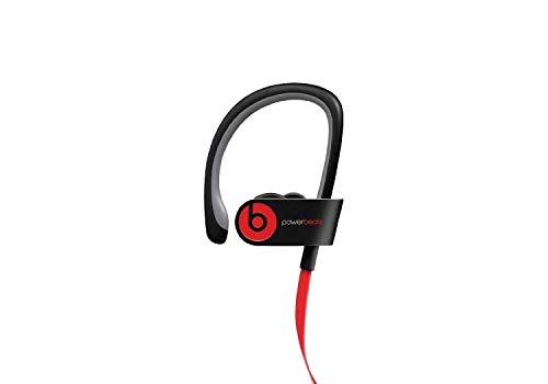 Beats by Dr dre Powerbeats2 Wireless In-Ear Bluetooth Headphone with Mic - Black (Renewed) (Refurbished Powerbeats2 Wireless)