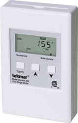 Boiler Control (tekmar | 256 | Boiler Control | Single Stage | Outdoor Temperature Reset | 070 Outdoor Sensor and 071 Universal Sensor Included)