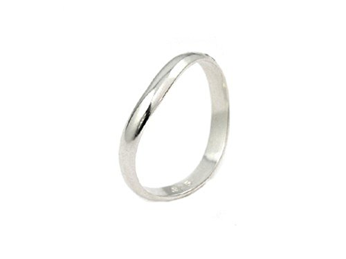 Sterling Silver Thumb Ring 3mm Band Custom Comfort Fit Design 925 Size 13 (39RA059-13)