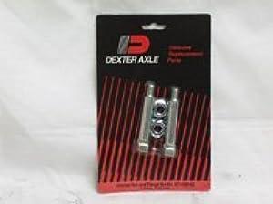 Dexter K7129000 Shackle Bolt and Flange Nut Kit by Dexter