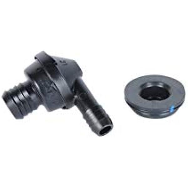 Brake Booster Check Valve Billet Aluminum Vacuum Reservoir Breather Hot Rod GM