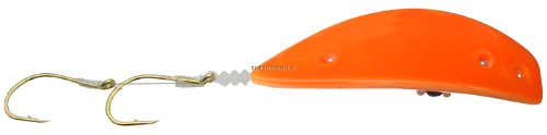 Pro-Troll Fishing Products Kokanee Killer Lure with EChip, Size 1.0, Orange Glow