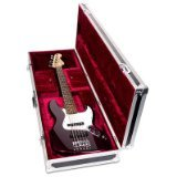 Road Ready RRGTRB Bass Guitar Case for Fender Jazz Bass (Bass Flight Case)