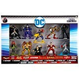 Jada DC Nano Metalfigs Batman, Bizarro, Batgirl, Flash, Catwoman Poisin Ivy, Hawkman, Black Adam, Shazam, Captain Atom