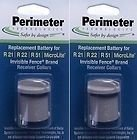 Perimeter Technologies Two-Pack Dog Fence Batteries for Invisible Fence Brand Receiver Collars by (2-Pack)
