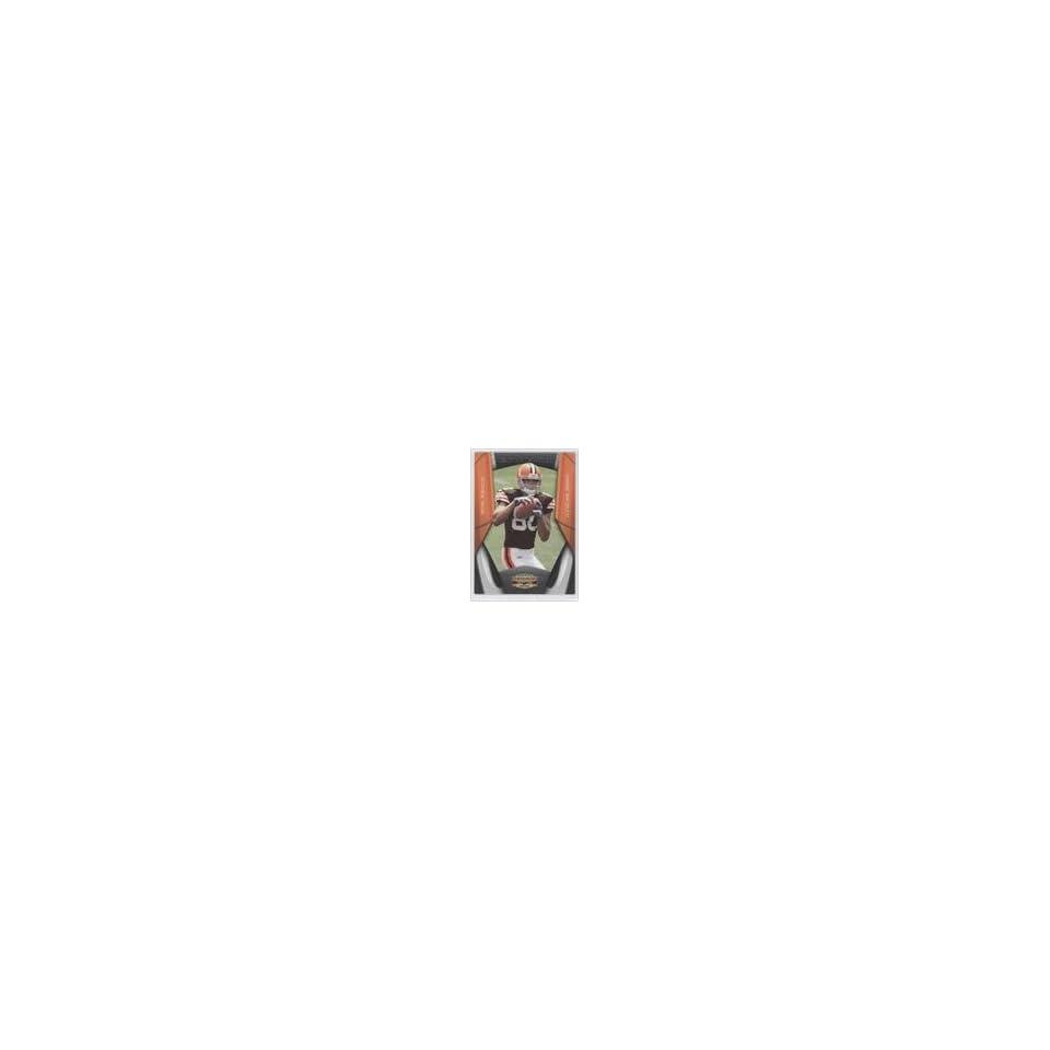 Brian Robiskie #124/250 (Football Card) 2009 Donruss Gridiron Gear Next Generation Silver #30