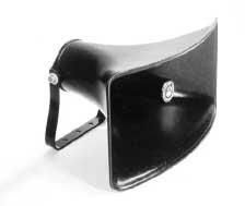 Atlas Sound CJ-46 - Wide Dispertion Reflex Sound Horn, Black (Reflex Sound Horn)
