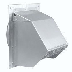 Nutone 647 Wall Cap Aluminum 7 round duct