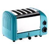 Dualit 47167 New Generation 4 Slice Azure Blue Toaster