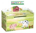 : Guidecraft Little Farm House Toy Box