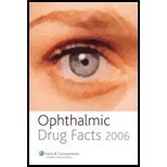 Ophthalmic Drug Facts 2006 9781574392449